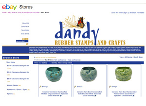 Dandy Rubber Stamps and Crafts