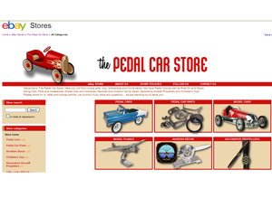 The Pedal Car Store